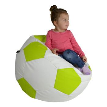Fotbalový míč střední ekokůže limo
