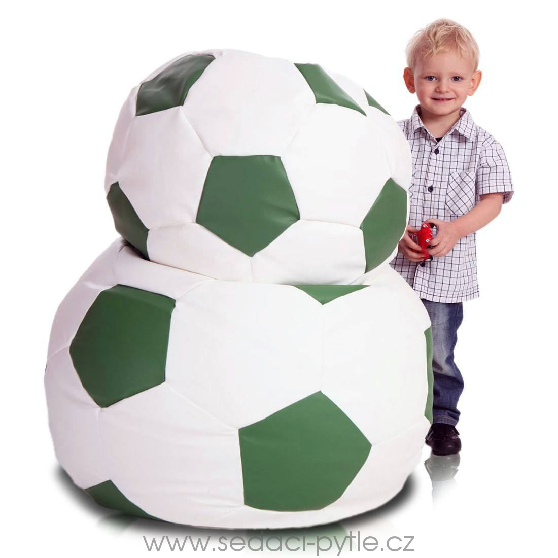 Primabag Fotbalový míč malý zelená