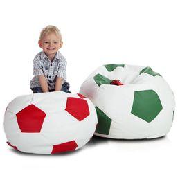 Fotbalový míč malý cervena