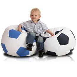 Fotbalový míč malý modra