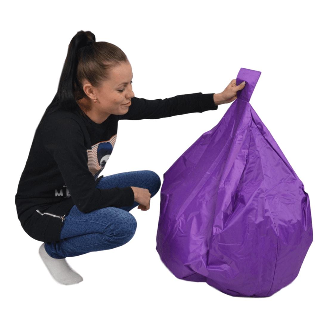 Křeslo Primabag Terry fialová