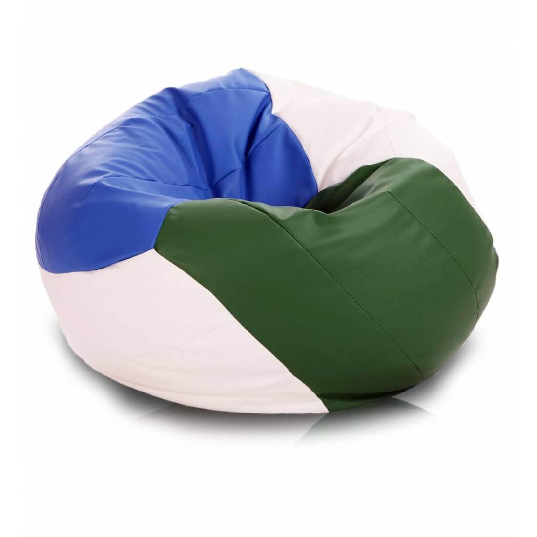 Sedací pytel Primabag Volejbalový míč zelená
