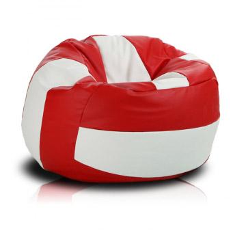 Volejbalový míč cervena