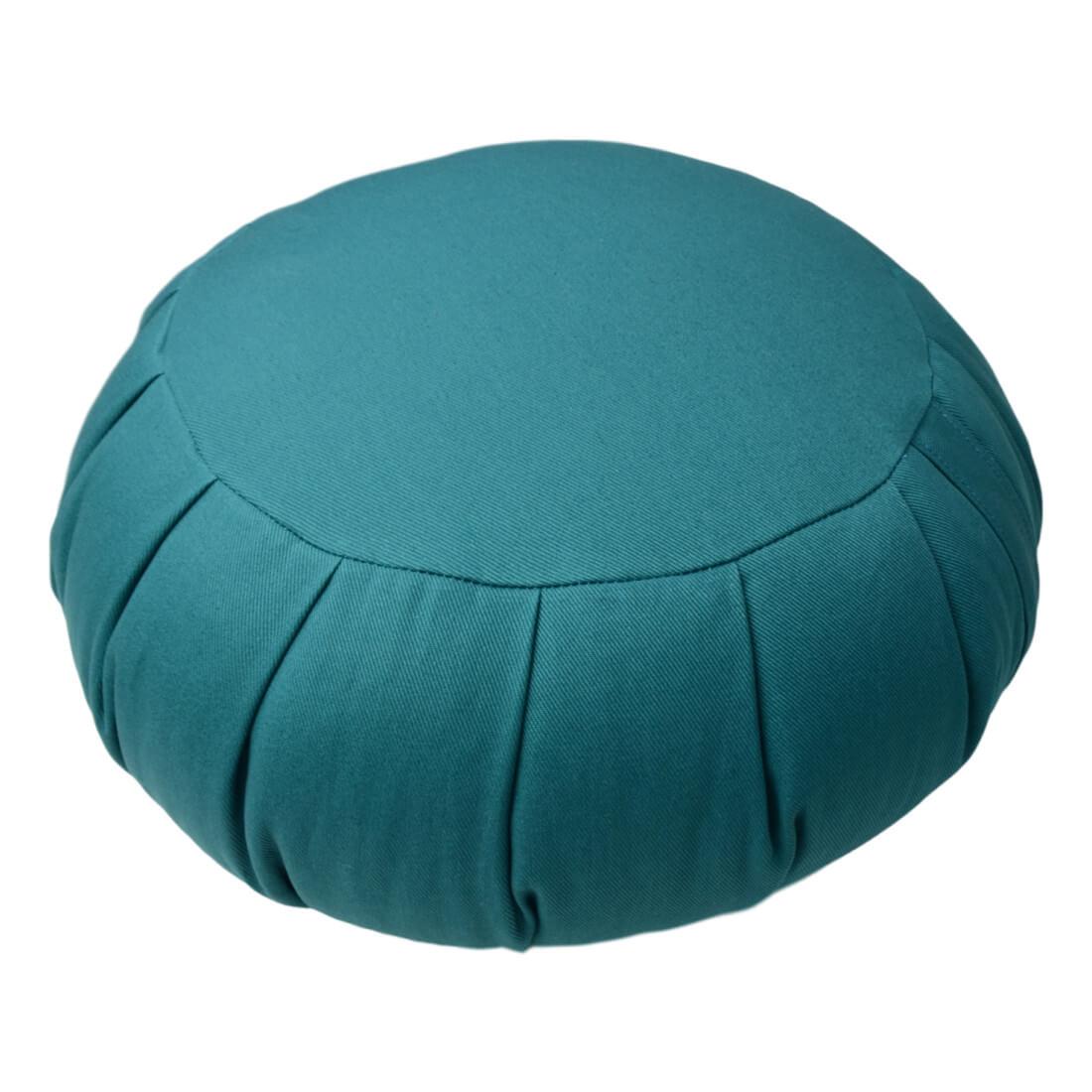 Meditační polštář Zafu tyrkysova