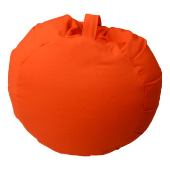Meditační polštář Zafu oranzova