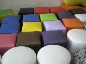 Kostky - každá barvá jiná