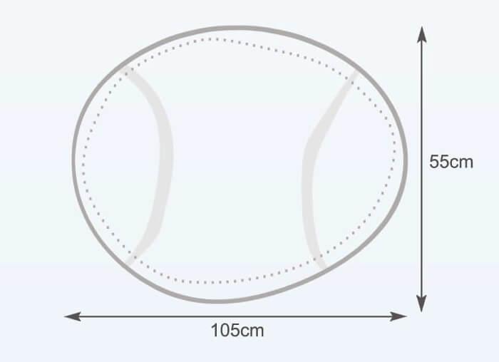 Rozměry vaku Tenisový míč