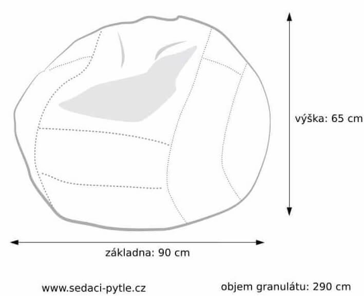 Rozměry vaku Volejbalový míč